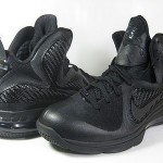 "Releasing Now: Nike LeBron 9 ""Black/Black-Anthracite"""