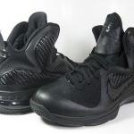 "Releasing Now: Nike LeBron 9 ""Black/Black-Anthracite"""