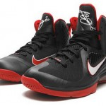 "Releasing Now: Nike LeBron 9 ""Black & Red"" Miami Heat"