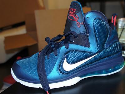 blue lebron 9