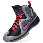 First Look: NIKE LEBRON 9 in Black/Grey/Cherry/Purple aka Miami Nights