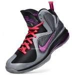 First Look: NIKE LEBRON 9 in Black/Grey/Cherry/Purple aka Miami Nights