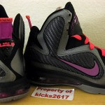 "Upcoming Nike LeBron 9 ""Miami Nights"" Also With 2 Sets of Laces"
