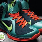 "First Look: Nike LeBron 9 ""Miami Hurricanes"""
