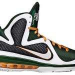 "Upcoming Nike LeBron 9 ""Miami Hurricanes"" Home Edition"