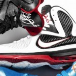 First Look: Nike LeBron 9 White/Black/Red (469764-100)