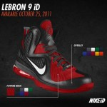 Nike LeBron 9 iD Preview vol. You won't be able to make your own South Beach shoe