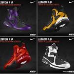 Nike LeBron 9 iD: Six More Example Colorways