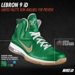 Nike LeBron 9 iD Update: Limited Palette Option Preview