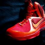 """Nike LeBron 9 iD Showcase: """"Super Flame"""" by H-Leung"""