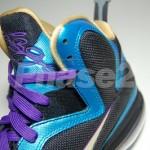 Nike LeBron 9 iD Black/Aqua/Gold/Purple by Phase2x