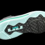 "Nike LeBron 9 Low Grey/Mint Candy/New Green ""Easter"""