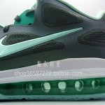 "Detailed Look at LEBRON 9 Grey/Mint Candy/New Green ""Easter"""