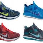 Preview of Nike LeBron 9 Low – Four New Colorways