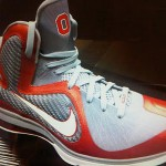 "First Look: Nike LeBron 9 ""Ohio State"" Player Exclusive"