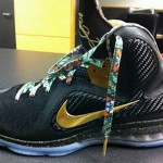 "Nike LeBron 9 ""Watch the Throne"" James & Jay-Z & Kanye West"