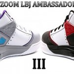 Zoom LBJ Ambassador III – Black/White/Red & Grey/Blue/Purple