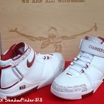 Nike Zoom LeBron II Chamber Of Fear White Red PE
