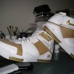 """Online Premiere: Nike Zoom LeBron II White/Gold """"Maccabi"""" PE"""