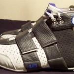 Nike LeBron 20-5-5: White/Black/Blue Air Zoom Beast Sample