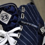 Throwback Thursday: LBJ5 New York Yankees Signed by Spike Lee
