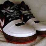 White/Black-Varsity Red LeBron VI Sample Showcase