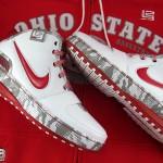 """Ohio State Buckeyes Nike Zoom LeBron VI aka Home """"PE"""" Showcase"""