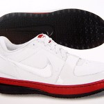 Nike Zoom LeBron James VI Low BLack-White-Red Edition