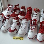 SHADOWFINDER313's Nike Zoom LeBron White and Red Team
