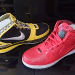 NYC Themed – Big Apple and Taxi Zoom LeBron 6s