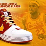 First Look at the 2008-09 Hardwood Classic Zoom LeBron 6