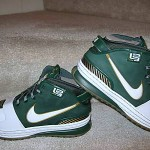 Saint Vincent – Saint Mary Nike Zoom LeBron VI Away