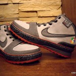 Throwback Thursday: LeBron VI (6) L.A. Rainbow Dunkman Sample
