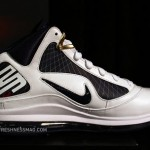 Upcoming Nike Air Max LeBron VII – White/Navy/Gold/Red