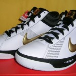 Recently Released: Zoom LBJ Ambassador II White/Black/Gold