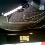 Actual Pic of the All Black Nike Zoom LBJ Ambassador