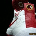 Nike Zoom LBJ Ambasssador in Classic White-Red-Gold