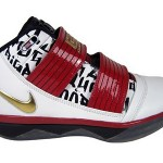 Fresh New Soldier III – White/Metallic Gold-Varsity Red-Black