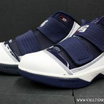 Nike Zoom Soldier III – White and Navy (141) – Kids vs Mens