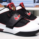 Nike Zoom LeBron Soldier IV – Black/White/Red – Actual Photos