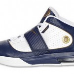 Nike Zoom Soldier IV White/Navy/Gold Available. Akron Home?