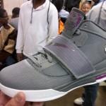 Leaked: Nike Zoom Soldier IV – Grey and Purple – Sample Version