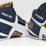 PE Spotlight: Nike Zoom Soldier Navy & Gold 2007 NBA Finals PE