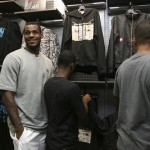 Lebron James Inaugurates the House of Hoops in Paris, Europe