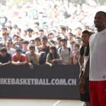 The 2011 LeBron James Basketball Visits Xian and Shanghai