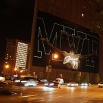 "LeBron ""We Are All Witnesses"" Billboard with MVP Lights Wallpaper"