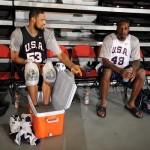Wearing Brons – Tyson Chandler's Soldier III USA Basketball PE