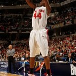 Wearing Brons – Ohio State's White / Red LeBron 7 & Soldier 3