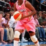 Wearing Brons – Think Pink with Atlanta Dream and Soldier III
