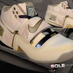 "Unreleased Nike Zoom LeBron Soldier Sample Wheat Camo ""Desert Storm"""